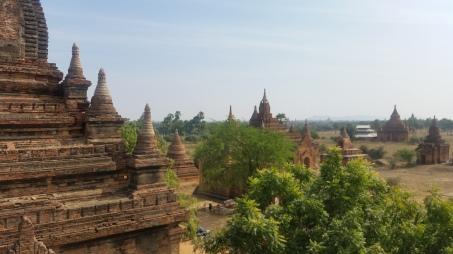 Les pagodes de Bagan au Myanmar