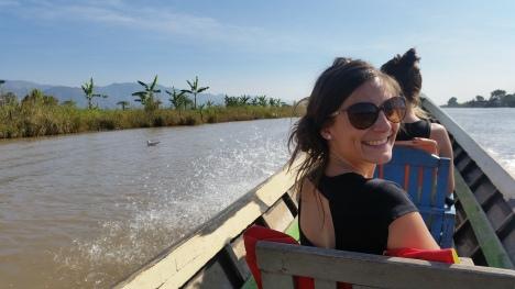 Lac Inlé en Birmanie ou Myanmar