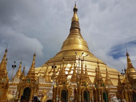 Shwedagon Pagoda à Yangon