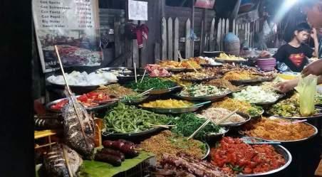 Légumes sur un marché local