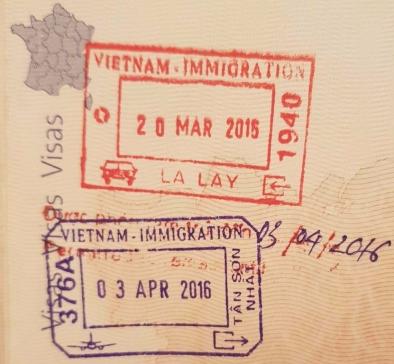 Visa pour l'entrée au Vietnam