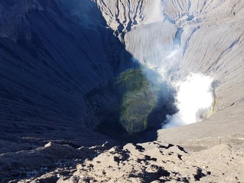 Intérieur du volcan Bromo