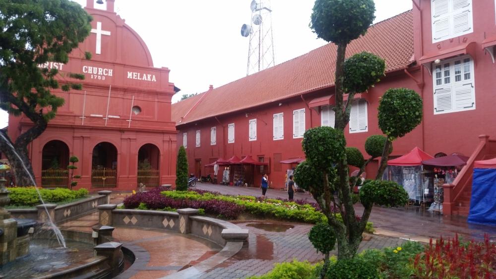 Eglise de Malacca en Malaisie