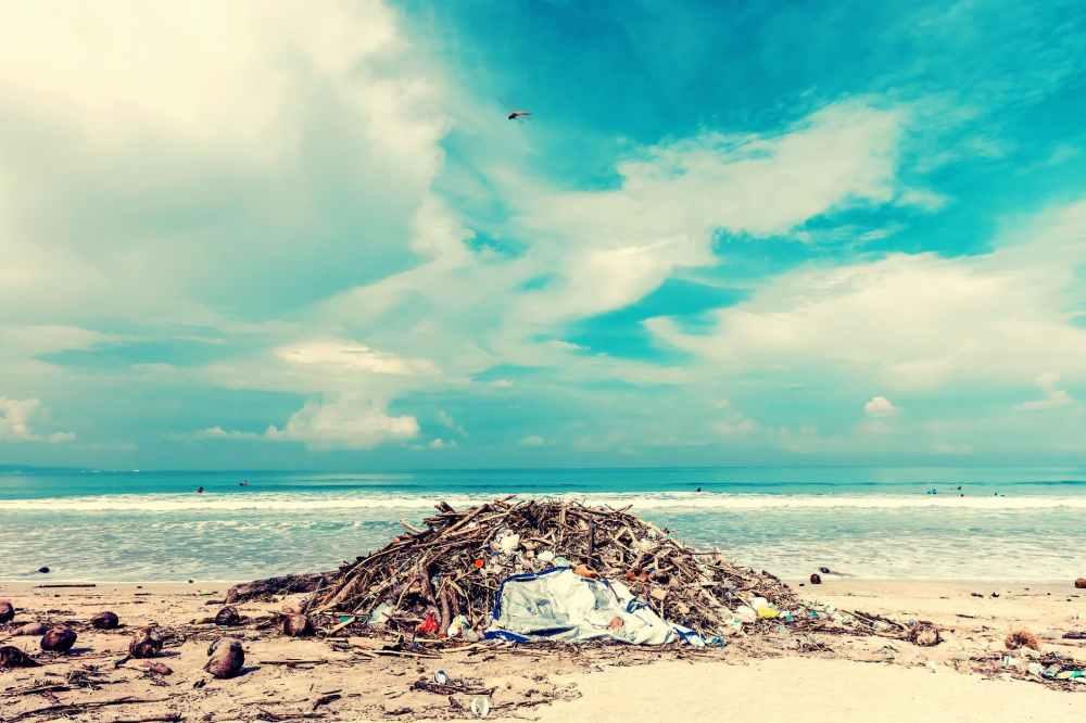 pollution plage